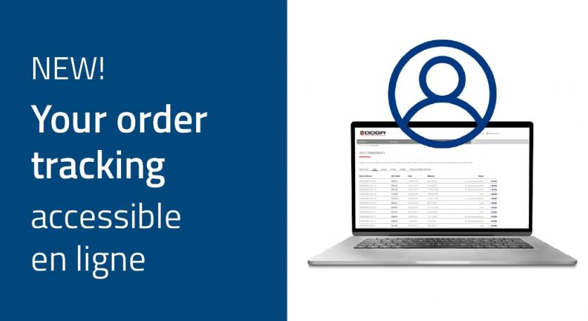 Order tracking: new feature of your DOGA customer area