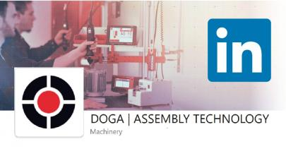 Follow us on LinkedIn subscribing to our page DOGA | ASSEMBLY TECHNOLOGY