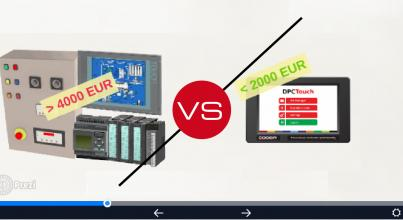 Interface DOGA DPC Touch vs / PLC
