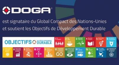 DOGA rejoint le Global Compact des Nations Unies