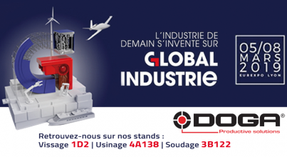 DOGA au salon GLOBAL INDUSTRIE 2019