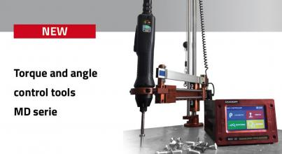 Torque and angle control tools MD serie