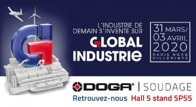 Retrouvez DOGA | SOUDAGE au salon Global Industrie