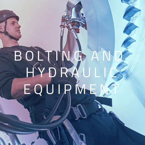 Bolting and hydraulic equipments