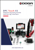 Documentation cover - DPC Touch V2, sequencing and process monitoring interface - DOC.60356