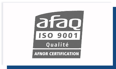 1996 Certification ISO 9001 AFAG