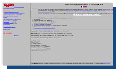1998 Site Internet DOGA