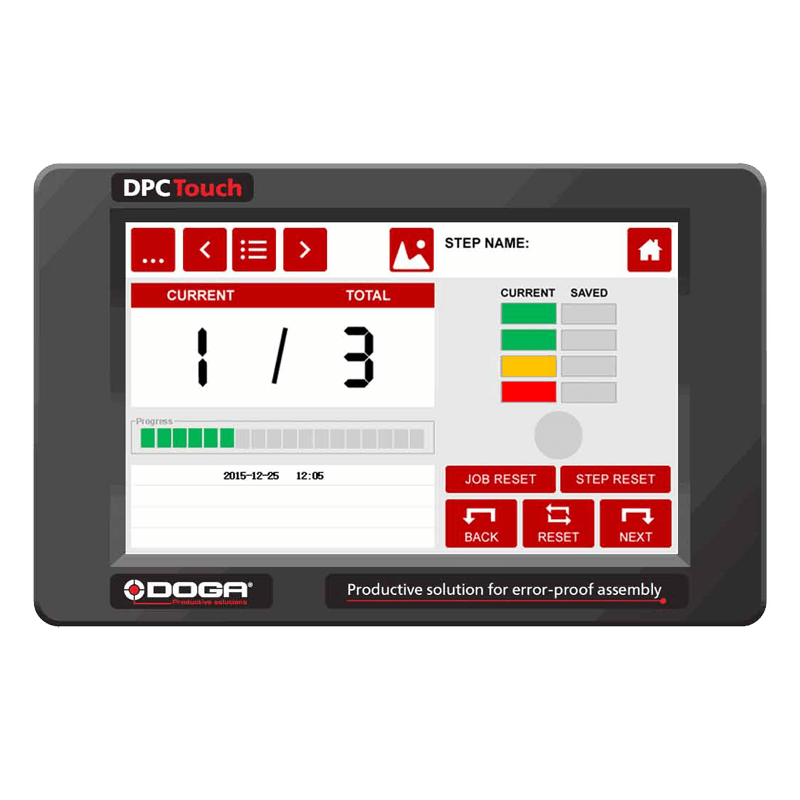 Interface Homme Machine DPC Touch